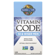 Vitamin Code RAW 50& Wiser Men -  Сурови Витамини за Мъже над 50г